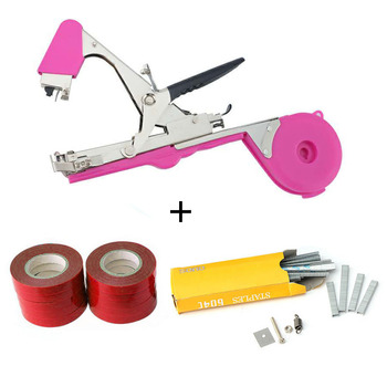 ALLSOME Plant Branch Tapetool Tapener Tapes Garden Tools Plant Tying Packing Vegetable Stem Strapping with 10 Roll Tapes HT2606 - Spain, Set 6