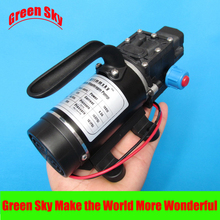цена на New Arrival automatic pressure switch type with handle and cooling fan 8L/Min 100W DC 12V micro diaphragm pump
