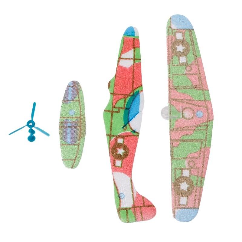 2017 12pcs Diy Hand Throw Flying Glider Planes Foam: Aliexpress.com : Buy Hot DIY Hand Throw Flying Glider
