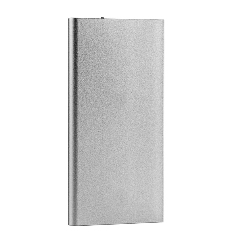 Ultra Slim 20000mAh Portable Power Bank Phone Charger Polymer Powerbank battery power bank With LED Light for Mobile Phones in Power Bank from Cellphones Telecommunications