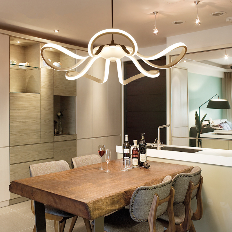 Modern restaurant chandelier bar lamps creative fixtures novelty dining chandeliers living room lighting LED hanging lights цена