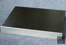 WANBO Audio BZ4305 Full Aluminum pre amplifier case DAC / preamp Audio box 430 x 55 x 306(mm) (WxHxD)