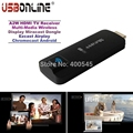 A2W HDMI TV Receiver Multi-Media Wireless Display Miracast Dongle Airplay Chromecast TV Stick Support Android IOS Windows