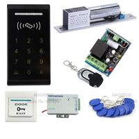 RFID Door Access Control System Kit Safety Remote Electric mortise lock