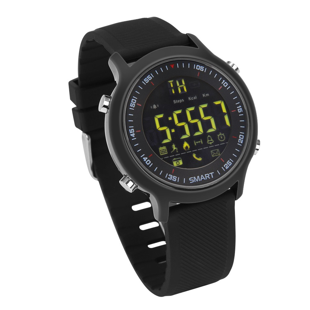 Smart Watch for Samsung iphone Waterproof IP68 Passometer Ultra long Standby Outdoor Swimming Sport Smartwatch for