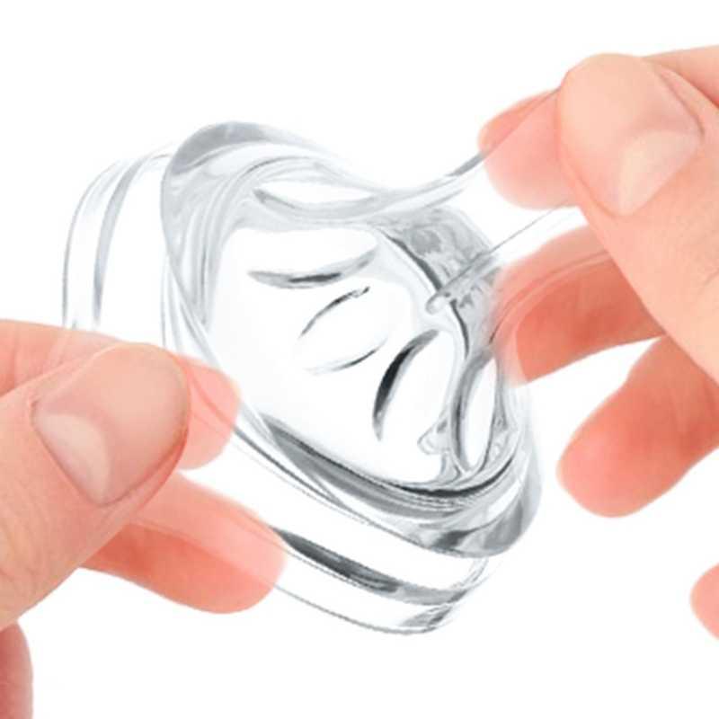 เด็กทารกแรกเกิดนุ่มความปลอดภัย Liquid ซิลิโคน Pacifier หัวนมธรรมชาติยืดหยุ่นอุปกรณ์เสริมสำหรับปากขวดนม