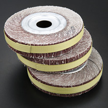 цены 6inch Flange Abrasive Flap Wheel Sanding Cloth Mop Wheel Metal Wood Polishing Grinding Grit 60 80 100 120 240 320