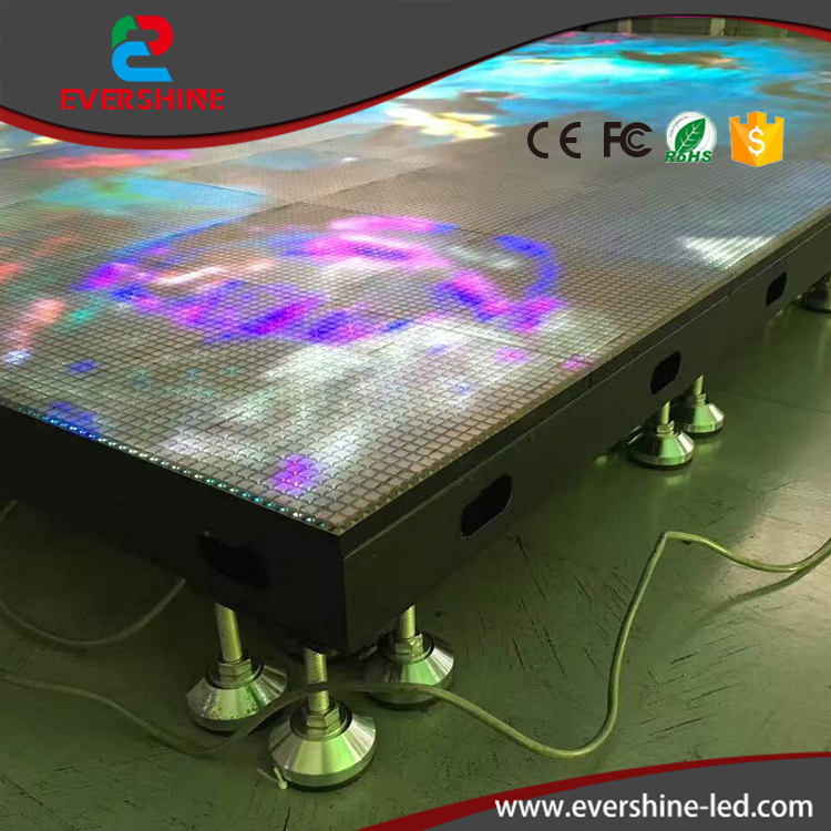 2017 New Arrivals Wedding Stage RGB Lighted Stand up LED Dance Floor rush beyond the lighted stage 2 dvd