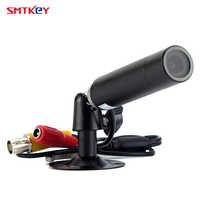 HD 800TVL Color Mini Bullet Video Camera CVBS Analog 960H Surveillance CCTV Camera with Bracket