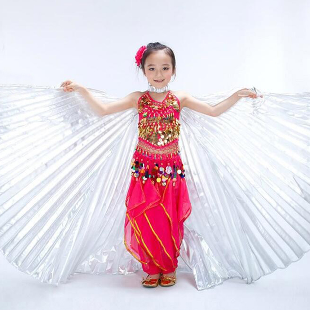 Girls Handmade Belly Dance Costume Childrens Angel Isis -5446