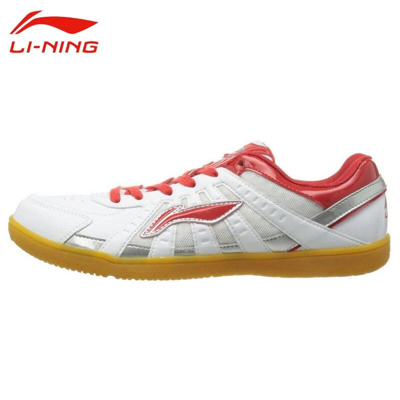 Li Ning Men s Breathable Training Shoes Li Ning Lace Up Cushioning Anti slip Comfortable Indoor