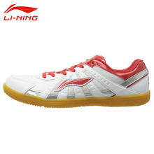 Check Discount Li-Ning Men's Breathable Training Shoes Li Ning Lace-Up Cushioning Anti-slip Comfortable Indoor Sports Sneakers ASNH009