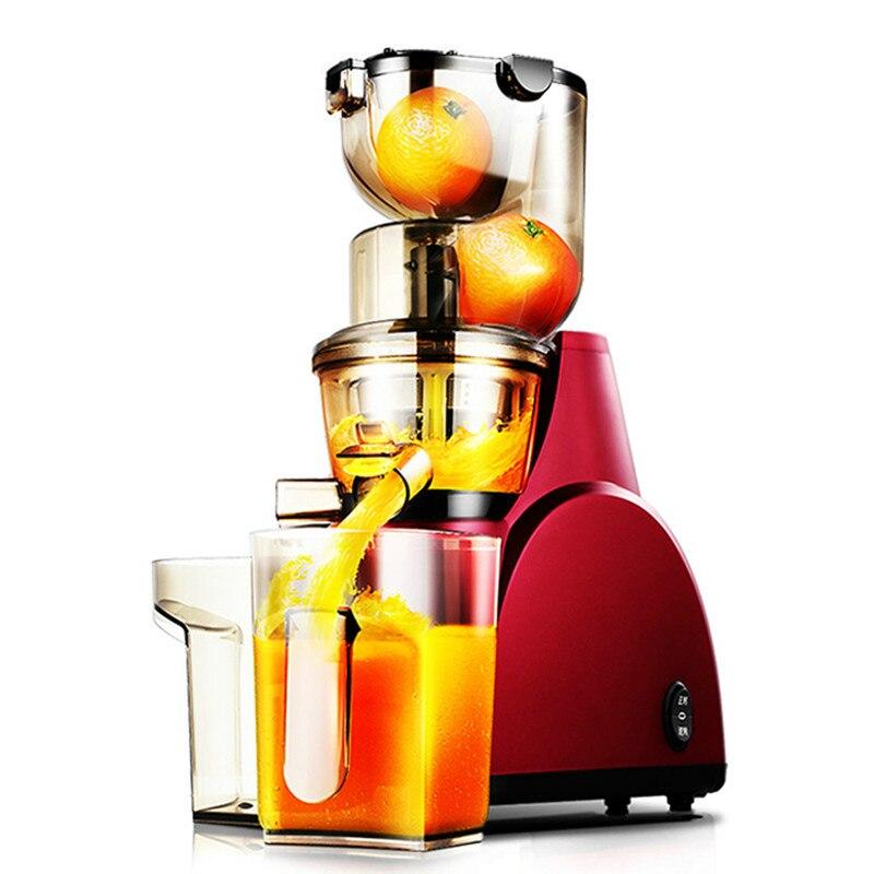 Соковыжималки крупнокалиберный соковыжималка Бытовая Автоматическая фруктов и овощей Многофункциональный сок машины.