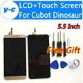 Cubot Dinossauro Touch Screen Display LCD de Alta Qualidade LCD + Touch Screen Substituição Painel Digitador Para Cubot Dinossauro 5.5 Polegada