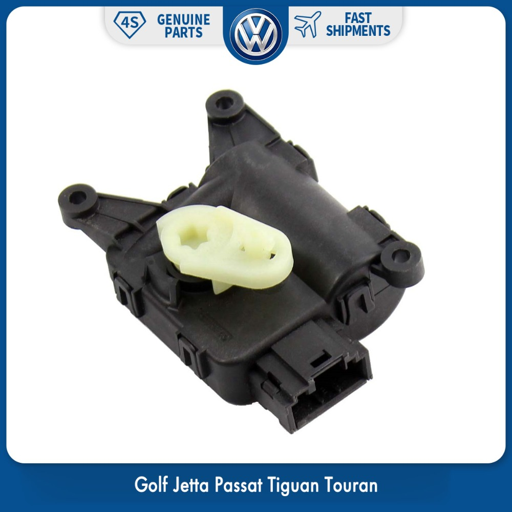 OEM Genuine Air Heater Vent Recirculation Flap Motor for VW Volkswagen Golf Jetta Passat Tiguan Touran 1KD 907 511 E наклейки e top zyva 319 nn vw topgear volkswagen tiguan
