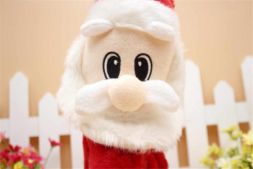 2019 Горячая мини Рождество Санта Клаус музыкальная игрушка кукла орнамент стол украшения подарки Декор для дома Рождество праздник c24