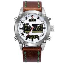 2019 Jeiso Classic Leisure Men Watch LED Digital Waterproof Shock Proof Sports Clock Analog Quartz Women Wrist Watches