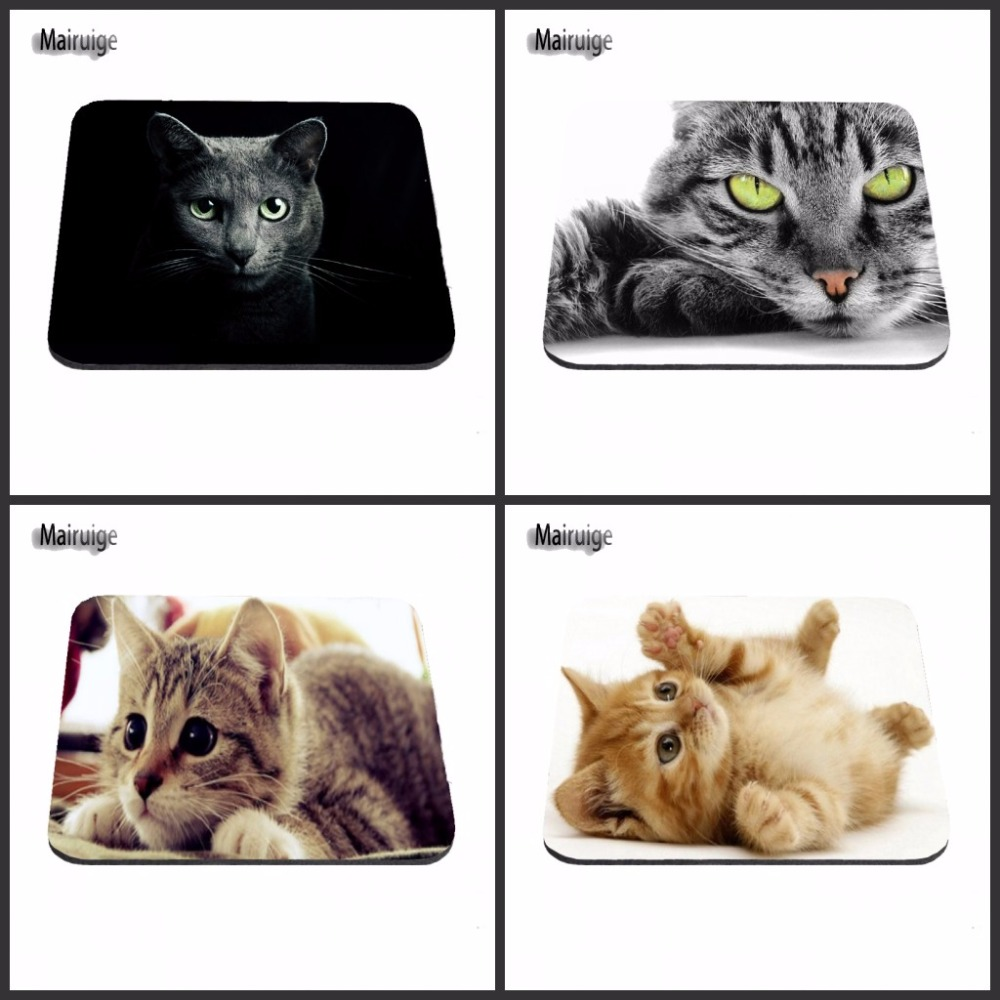 Cat Under A Rug Anti-slip Rectangle Mouse Pad Customized Supported Decorate You Desk 18*22/25*20/29*25*2cm