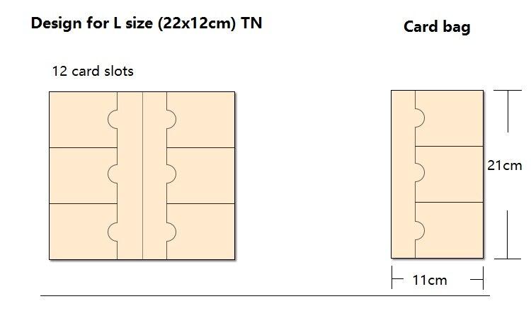 Pasta de Arquivo para l standard pocker notebook Color : Transparent