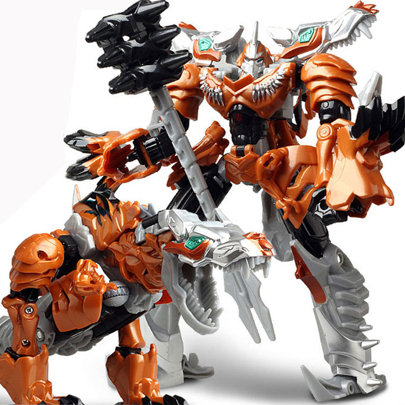 "Hot Sale 19cm Model Transformation Robot Dinosaur Car Action Toys Plastic Action Figure Toys Gift For Education Children 7.5"""