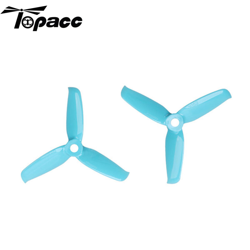 4pcs Gemfan Flash <font><b>3052</b></font> 3.0x5.2 PC 3 Bades Propeller 5mm Mounting Hole For 1306-1806 Motor RC Toy Quadcopter Blue Red Pink Black image
