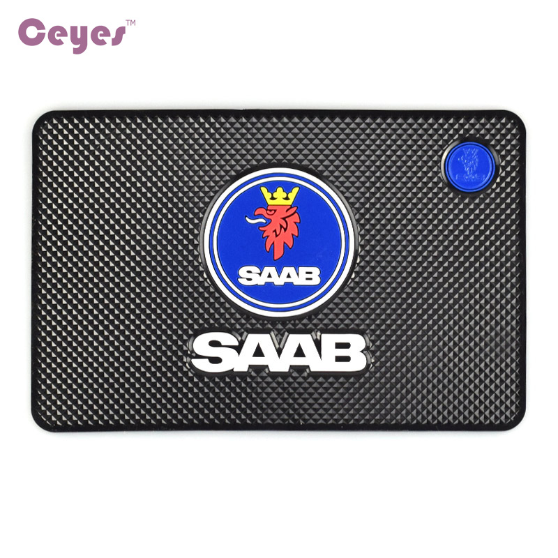 Auto Car-Styling Interior Accessories Mat Car Stickers Badge Case For Saab 03-10 9-3 9-5 93 95 9000 900 428 Emblems Car Styling car styling mat interior accessories case for mitsubishi car styling anti slip mat
