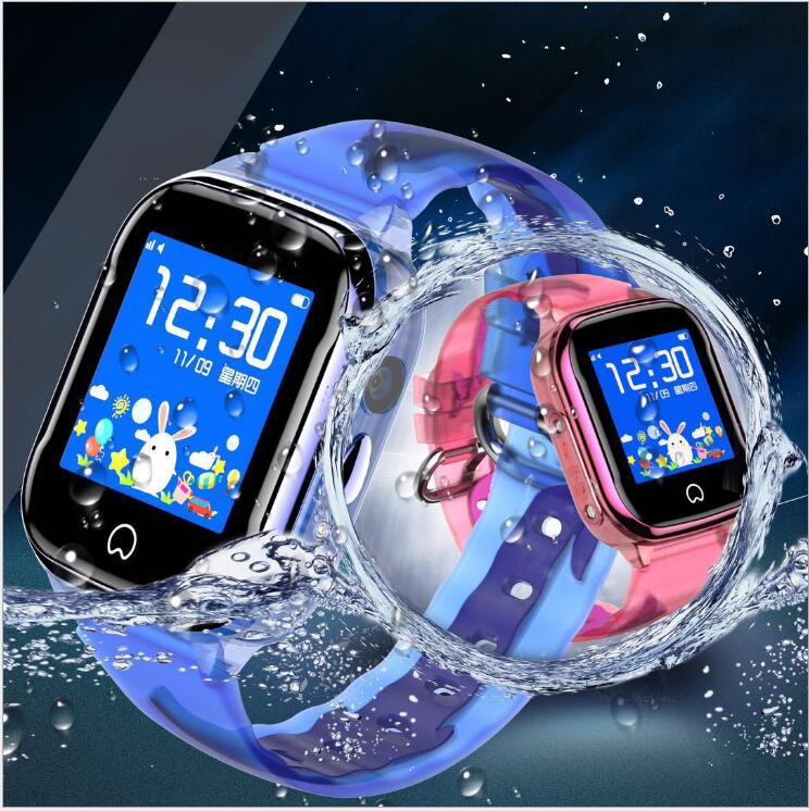 2019 M08 smart kids watch GPS LBS with sim card smartwatch IP67 waterproof SOS phone children watch for ios android kids pk q90