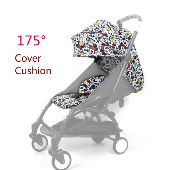 2018 Yoya Baby Stroller Accessories Sun Cover Canopy Seat Baby 175 Degree Sun Cover And Seat Cushion Set  Mat Set2018 Yoya Baby Stroller Accessories Sun Cover Canopy Seat Baby 175 Degree Sun Cover And Seat Cushion Set  Mat Set