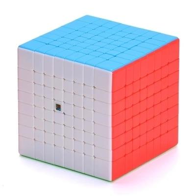 Moyu mf8 cubo migic 8x8, cubo de velocidade sem adesivo