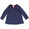 Hot Sale 62-74 Height Newborn Boys Girls T-Shirt Polka Dots Baby Boy Girl T Shirt Children's Tees Kids Jacket Clothing YZ087