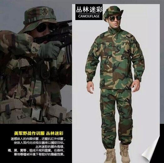 Uniforme militar CS Paintball Combate traje Uniforme Militar ACU Táctico Equipo de