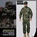 9 color !! Military Uniform CS Paintball suit Combat Military ACU Uniform Set Tactical hunting Gear Clothes Camouflage suit