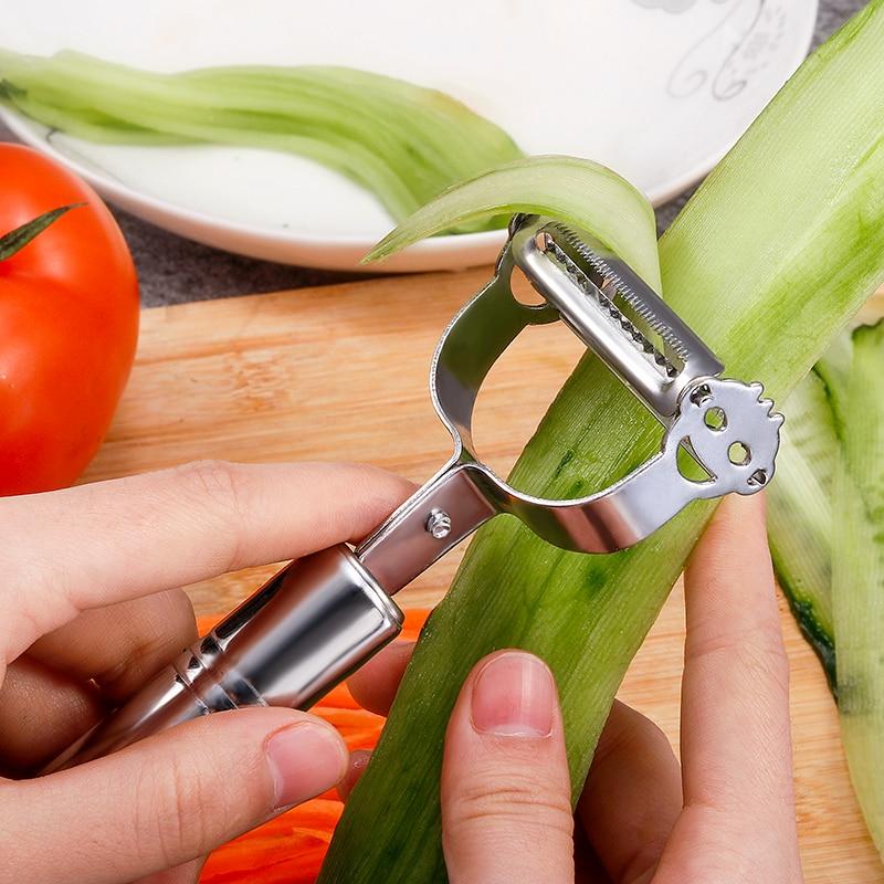 kitchen utensils Vegetable Peeler Multifunction Julienne Peeler Cooking Utensils Kitchen Accessories Double Planing Cooking Tool
