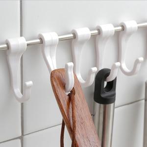 Image 5 - Ganci Per Appendere Chiave Gancio Vestiti Da Cucina Titolare Rails Bagno di Governante di Casa Organizzatore Gancio Adesivo Porta Sulla Parete