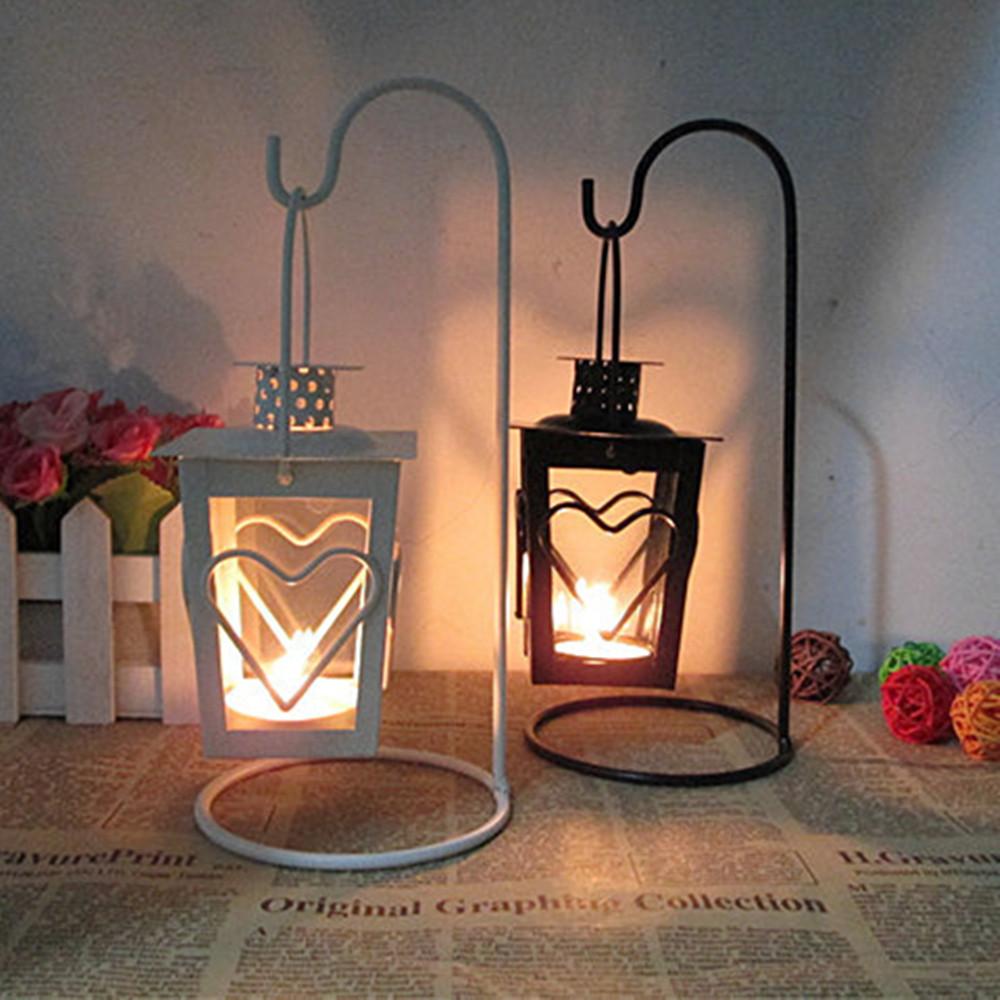 Tall wrought iron candle holders - Decorative Wedding House Candle Holders Wrought Iron Hanging Candle Holders Wholesale Moroccan Lantern Candle