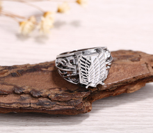 Anime Attack On Titan Jewelry Ring