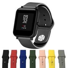 20mm Silicone Soft bands for Xiaomi Huami Amazfit Bip strap belt Watch Wristband galaxy watch 42mm/gear S2  sport Bracelet