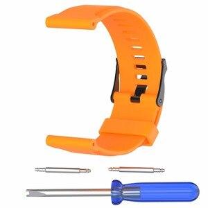 Image 4 - Horloge band voor suunto toepassing op Suunto traverse horlogeband sport traverse serie horloge siliconen band voor gymnastiek