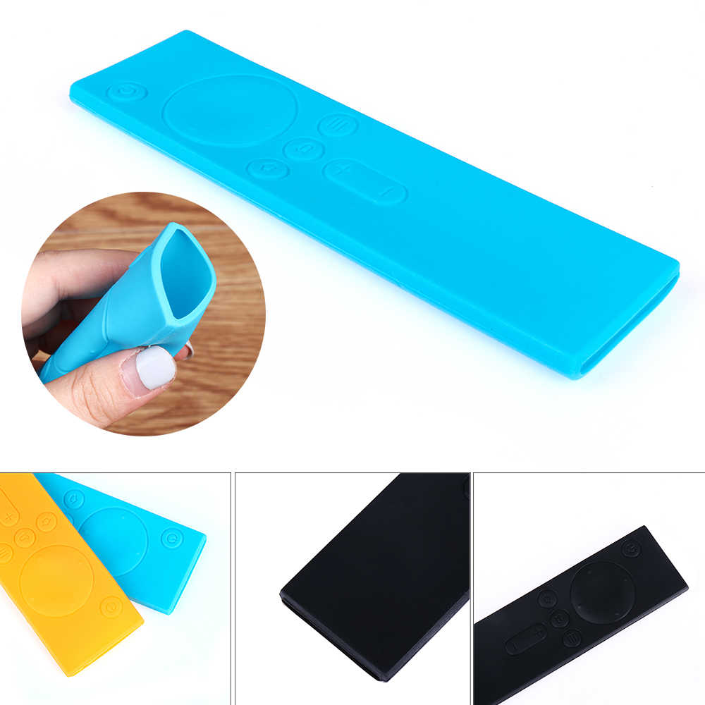 1PC Soft Anti-Slip Rubber Dust Covers Silicone TPU Remote Control Covers Protective Case for TV Mi Box Home & Living