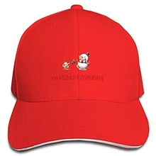 Baby Snowman Baseball Cap Trucker Hats Adjustable Dad Hat Peaked Flat for  Men Women(China 57f91a7e718