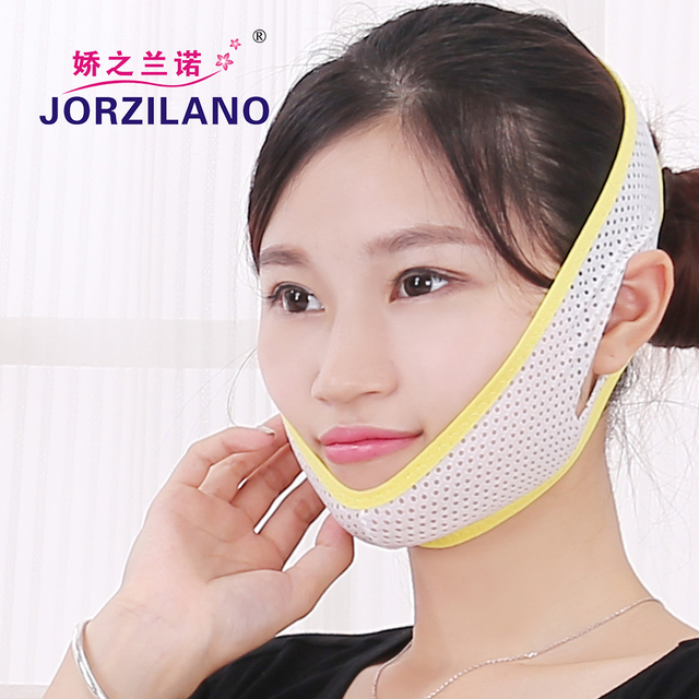 2017New high quality Anti Wrinkle Half Face Slimming Cheek Mask Lift V Face Line Slim up Massage Belt Strap face lift supports