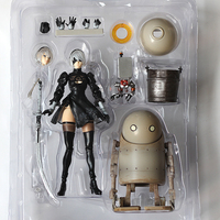 Game NieR Automata YoRHa No. 2 Type B 2B Machine Lifeform Cartoon Toy Action Figure Model Doll Gift