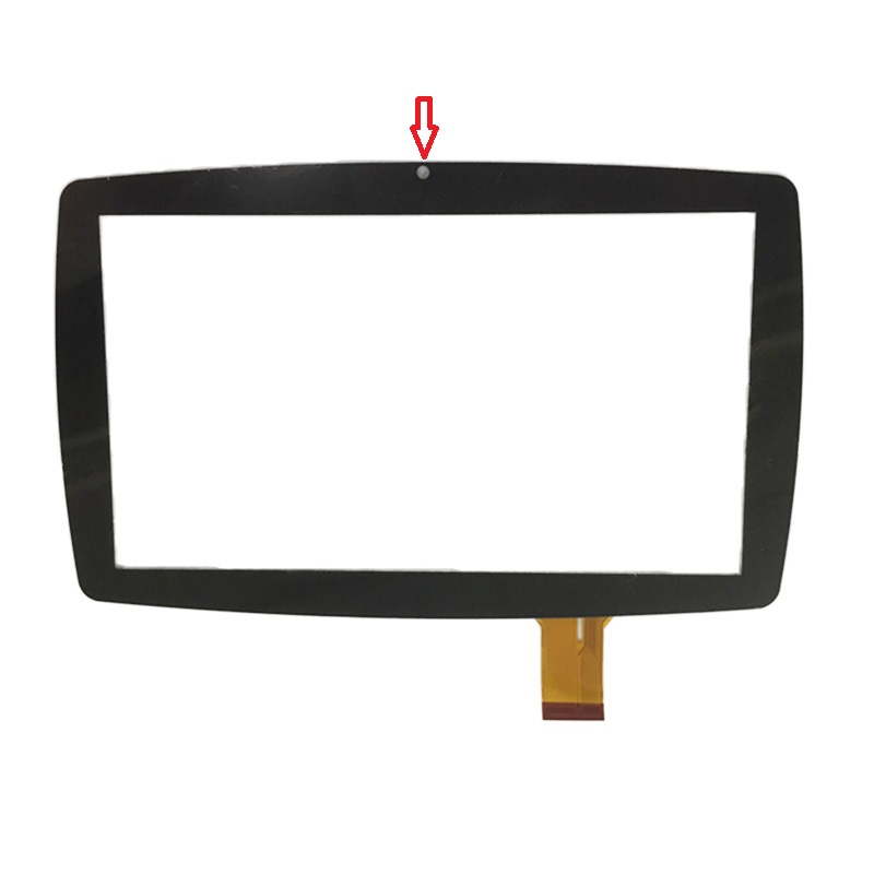 New Digitizer 7 Inch Touch Screen Front Glass Panel For Lisciani Mio Tab Barbie Evolution Free shipping original new 10 1 inch touch panel for acer iconia tab a200 tablet pc touch screen digitizer glass panel free shipping