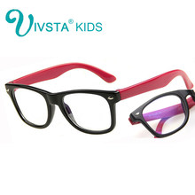 IVSTA Computer Glasses for Kids anti blue rays Gaming Children Frame anti radiation for phone TV eyes optical boys girls study(China)
