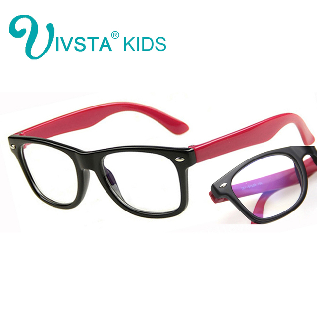 90ae26982fa IVSTA Computer Glasses for Kids anti blue rays Gaming Children Frame anti  radiation for phone TV eyes optical boys girls study