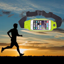 Sports Running Gym Waist Belt Bag Case Cover for iphone6 4.7 Inch(China)