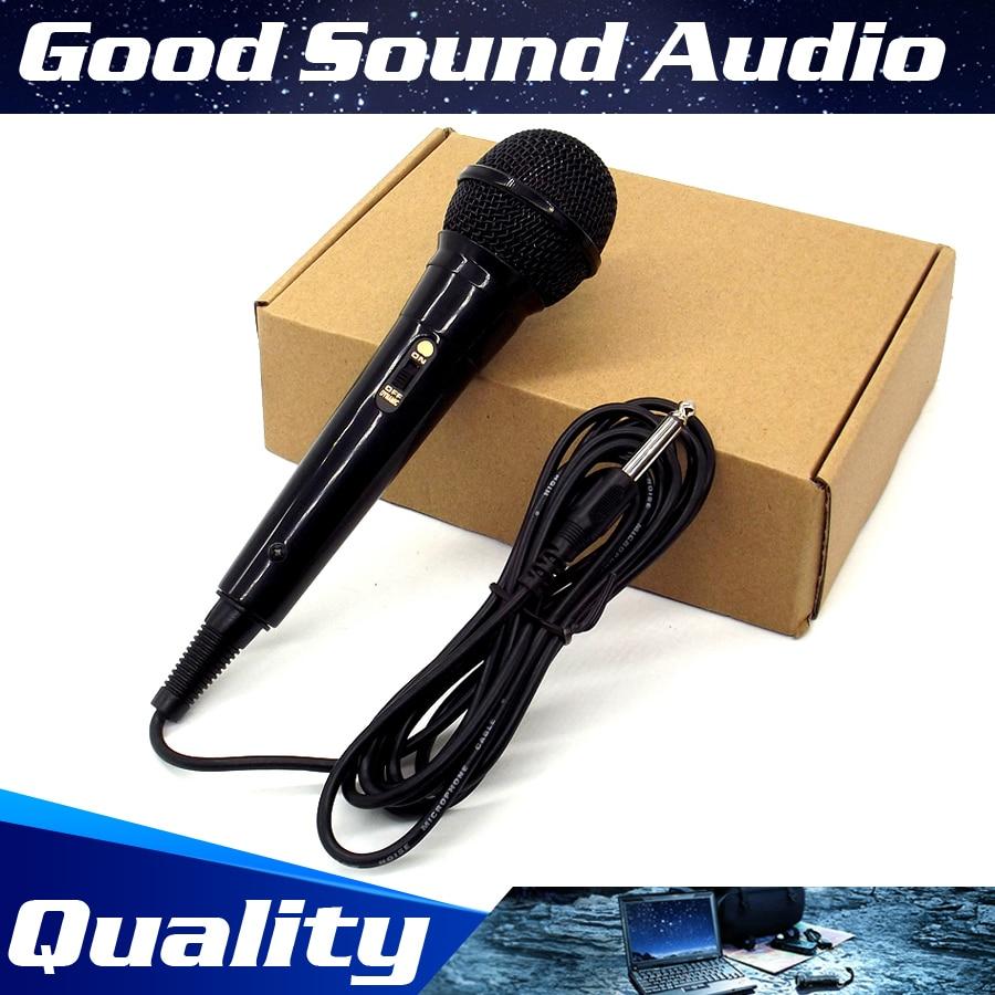 3 Meter Cable 6.5mm Jack Plug Handheld Karaoke Microphone Wired Dynamic Mic Mke For KTV Singing Stage Megaphone DJ Audio Mixer