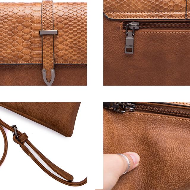 AMELIE GALANTI NEWEST Ladies Handbag Stylish Women Crossbody Bag Soft PU Leather Casual Small Envelope Bag Women Shoulder Bag