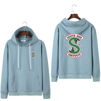 riverdale hoodie women spring king and queen matching couple hoodies women clothes autumn hoody 2019 woman south side serpents