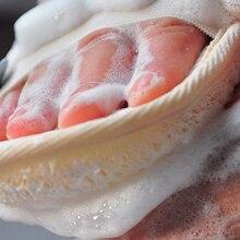 Hot 1PC Natural Bristle Body Brush Loofah Effective Exfoliating Bath Brush Massage Shower Back Spa Bath Shower Sponge Scrub natural loofah sponge bath shower ball with brush white